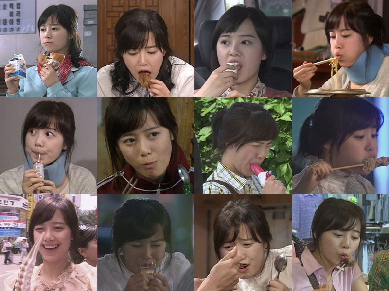 Goo Hye Sun enjoys eating