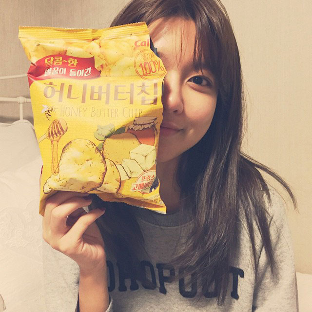 SNSD Sooyoung Honey Butter Chip