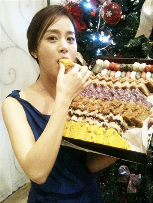 Kim Tae Hee introduces Korean food