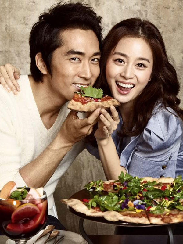 Song Seung Heon Kim Tae Hee Black Smith Pizza