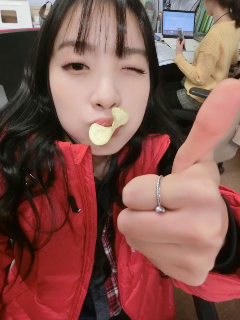 Rainbow Jisook Calbee honey butter chips