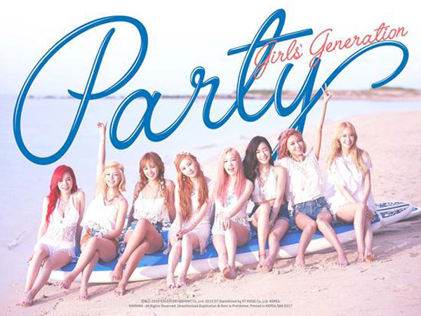 Girls Generation Party Korean single