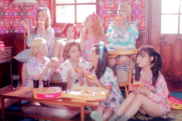 Girls Generation Lion Heart Mr Pizza