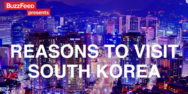 Reasons to visit South Korea