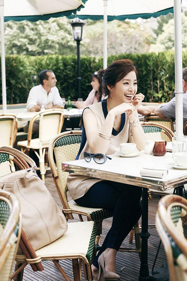 Kim Tae Hee Paris Cartier