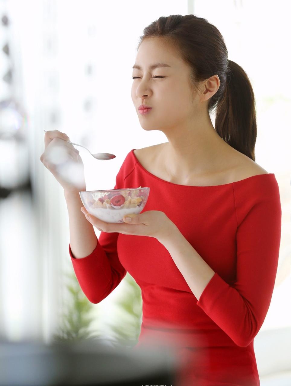 Kang So-ra Kelloggs cereals Korea