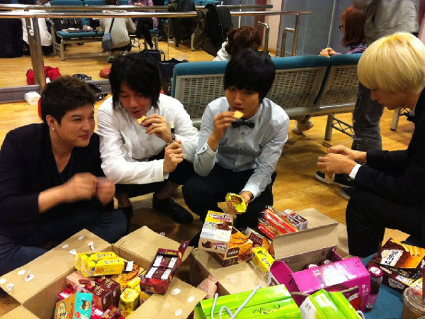 Kim Jang Hoon Super Junior Korean snacks