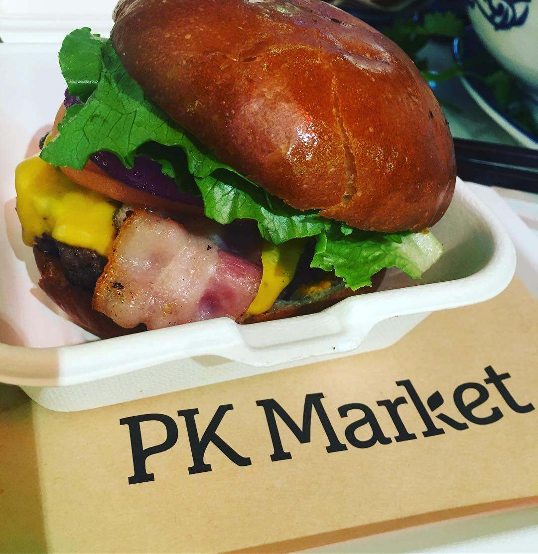 Rainbow Woori PK Market burger